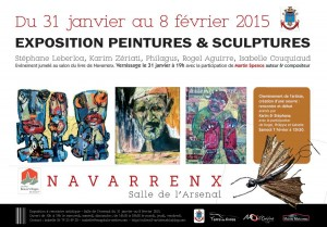affiche expo navarrenx
